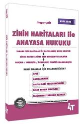 4T Yayınları - 4T Yayınları Zihin Haritaları ile Anayasa Hukuku