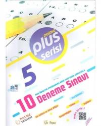 Palme Yayıncılık - 5. Sınıf Plus Serisi 10 Deneme Sınavı Palme Yayınevi