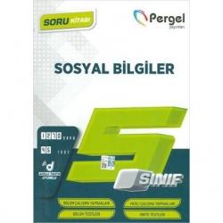 Pergel Yayınları - 5. Sınıf Sosyal Bilgiler Soru Kitabı Pergel Yayınları