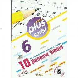 Palme Yayıncılık - 6. Sınıf 10 Deneme Sınavı Plus Serisi Palme Yayıncılık