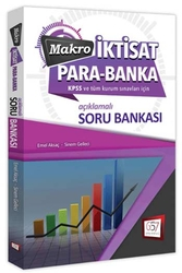 657 Yayınevi - 657 Yayınları KPSS A Grubu Makro İktisat Para Banka Soru Bankası