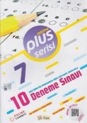 Palme Yayıncılık - 7. Sınıf Plus Serisi 10 Deneme Sınavı Palme Yayınevi