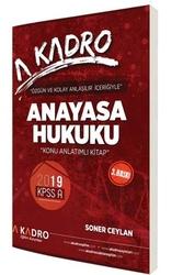 A Kadro Yayınları - A Kadro Yayınları 2019 KPSS A Grubu Anayasa Hukuku Konu Anlatımlı