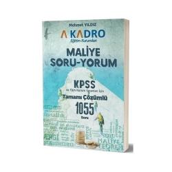 A Kadro Yayınları - A Kadro Yayınları 2019 KPSS A Maliye Soru Yorum Soru Bankası
