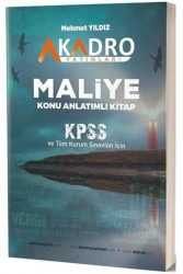 A Kadro Yayınları - A Kadro Yayınları KPSS A Grubu Maliye Konu Anlatımlı