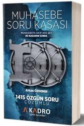 A Kadro Yayınları - A Kadro Yayınları KPSS A Grubu Muhasebe Soru Kasası