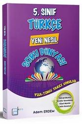 A Kare Yayınları - A Kare Yayınları 5. Sınıf Türkçe Yeni Nesil Soru Dünyası