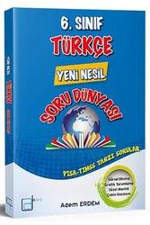 A Kare Yayınları - A Kare Yayınları 6. Sınıf Türkçe Yeni Nesil Soru Dünyası