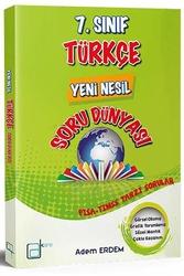 A Kare Yayınları - A Kare Yayınları 7. Sınıf Türkçe Yeni Nesil Soru Dünyası