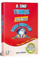 A Kare Yayınları - A Kare Yayınları 8. Sınıf Türkçe Yeni Nesil Soru Dünyası