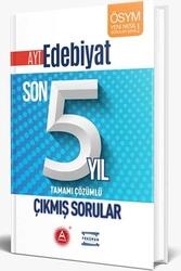 A Yayınları - A Yayınları AYT Edebiyat Son 5 Yıl Tamamı Çözümlü Çıkmış Sorular