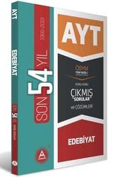 A Yayınları - A Yayınları AYT Edebiyat Son 54 Yıl Konu Konu Çıkmış Sorular ve Çözümleri