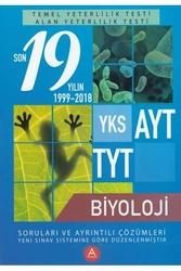 A Yayınları - A Yayınları TYT AYT Biyoloji Son 19 Yılın Çıkmış Soruları ve Ayrıntılı Çözümleri