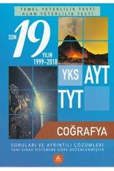 A Yayınları - A Yayınları TYT AYT Coğrafya Son 19 Yılın Çıkmış Soruları ve Ayrıntılı Çözümleri