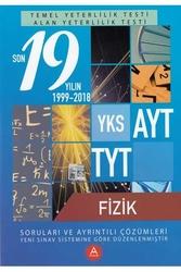 A Yayınları - A Yayınları TYT AYT Fizik Son 19 Yılın Çıkmış Soruları ve Ayrıntılı Çözümleri