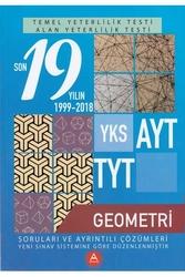 A Yayınları - A Yayınları TYT AYT Geometri Son 19 Yılın Çıkmış Soruları ve Ayrıntılı Çözümleri