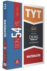 A Yayınları - A Yayınları TYT Matematik Son 54 Yıl Konu Konu Çıkmış Sorular ve Çözümleri
