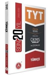 A Yayınları - A Yayınları TYT Türkçe Son 20 Yıl Konu Konu Çıkmış Sorular ve Çözümleri