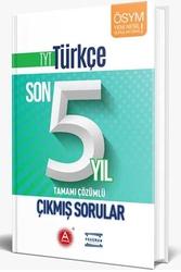 A Yayınları - A Yayınları TYT Türkçe Son 5 Yıl Tamamı Çözümlü Çıkmış Sorular