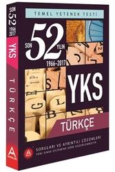 A Yayınları - A Yayınları YKS TYT Türkçe Son 52 Yılın Çıkmış Soruları