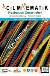 Acil Yayınları - Acil Yayınları AYT Matematik Reaksiyon 12'li Denemeleri