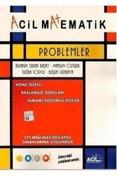 Acil Yayınları - Acil Yayınları Problemler Konu Anlatımlı Soru Fasikülü