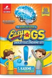 Adeda Yayıncılık - Adeda Yayıncılık Easy Dikkati Güçlendirme Seti 1. Kademe A Kitabı 3-6 Yaş
