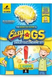 Adeda Yayıncılık - Adeda Yayıncılık Easy Dikkati Güçlendirme Seti 2. Kademe A Kitabı 4-7 Yaş
