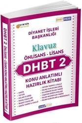 Ahsen Kitap - Ahsen Kitap 2020 DHBT 2 Önlisans Lisans Kılavuz Konu Anlatımlı Hazırlık Kitabı