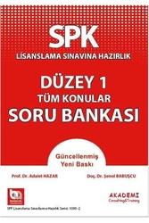 Akademi Consulting ve Training - Akademi Yayınları SPK Düzey 1 Tüm Konular Soru Bankası
