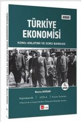 Akfon Yayınları - Akfon Yayınları 2020 Türkiye Ekonomisi Konu Anlatımlı Soru Bankası