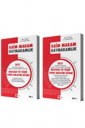 Akfon Yayınları - Akfon Yayınları 2021 Kaim Makam Kaymakamlık Mevzuat ve Teori Konu Anlatım Kitabı 4. Baskı