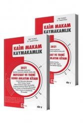 Akfon Yayınları - Akfon Yayınları 2021 Kaim Makam Sınav Mevzuatı Konu Çalışma Kitabı