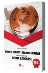 Akfon Yayınları - Akfon Yayınları 2021 Mikro İktisat Makro İktisat Tamamı Çözümlü Soru Bankası