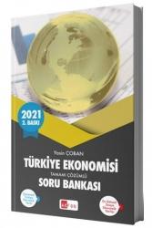 Akfon Yayınları - Akfon Yayınları 2021 Türkiye Ekonomisi Tamamı Çözümlü Soru Bankası