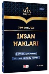 Akfon Yayınları - Akfon Yayınları 350 Soruda İnsan Hakları Soru Bankası MİA Serisi