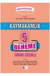 Akfon Yayınları - Akfon Yayınları Artıvizyon Kaymakamlık Tamamı Çözümlü 5 Deneme