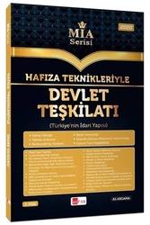 Akfon Yayınları - Akfon Yayınları Hafıza Teknikleriyle Devlet Teşkilatı (Türkiye'nin İdari Yapısı) MİA Serisi