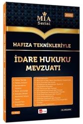 Akfon Yayınları - Akfon Yayınları Hafıza Teknikleriyle İdare Hukuku Mevzuatı MİA Serisi