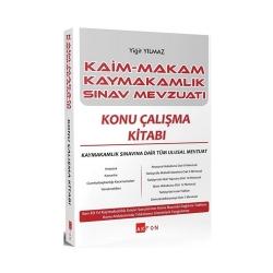 Akfon Yayınları - Akfon Yayınları Kaim Makam Kaymakam Sınav Mevzuatı Konu Çalışma Kitabı