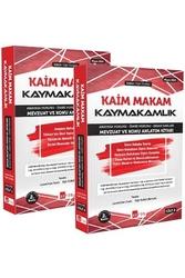 Akfon Yayınları - Akfon Yayınları Kaim Makam Kaymakamlık Mevzuat ve Konu Anlatım Kitabı 2. Baskı