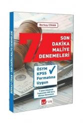 Akfon Yayınları - Akfon Yayınları KPSS A Son Dakika Maliye 7 Deneme