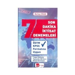 Akfon Yayınları - Akfon Yayınları Son Dakika İktisat Denemeleri