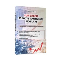 Akfon Yayınları - Akfon Yayınları Son Dakika Türkiye Ekonomisi Notları