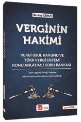 Akfon Yayınları - Akfon Yayınları Verginin Hakimi Konu Anlatımlı Soru Bankası