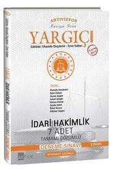 Akfon Yayınları - Akfon Yayınları Yargıç İdari Hakimlik Tamamı Çözümlü 7 Deneme Sınavı