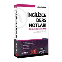 Akın Dil & Yargı Yayınları - Akın Dil & Yargı Yayınları 2018 YDS Grammar İngilizce Ders Notları 51. Baskı