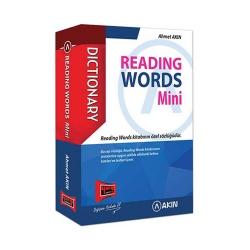 Akın Dil & Yargı Yayınları - Akın Dil & Yargı Yayınları Reading Words Mini Cep Kitabı