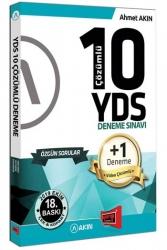 Akın Dil & Yargı Yayınları - Akın Dil & Yargı Yayınları YDS 10 +1 Çözümlü Özgün Deneme Sınavı