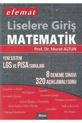 Aktüel Yayınları - Aktüel Yayınları Liselere Giriş Matematik Yeni Sistem LGS ve PISA Soruları 8 Deneme Sınavı